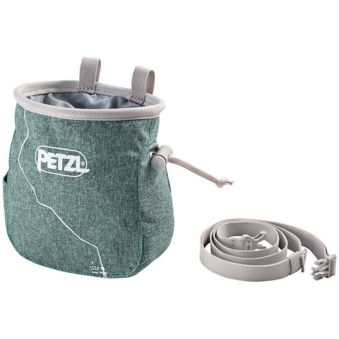 Magnezij vrečka Petzl Saka Chalk Bag (Mottled Green)