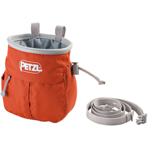 Magnezij vrečka Petzl Sakapoche Chalk Bag (Red)