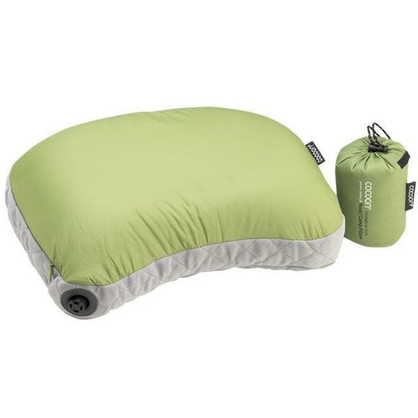 Vzglavnik Cocoon Air-Core Hood/Camp Pillow (Wasabi/Grey)