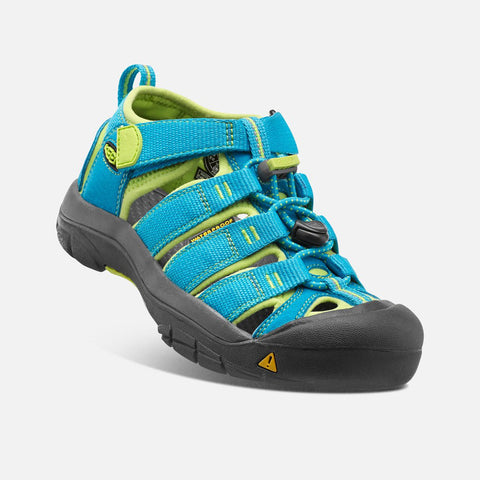 Otroški sandali Keen Newport H2 Sandals  (Hawaiian Blue/Green Glow)