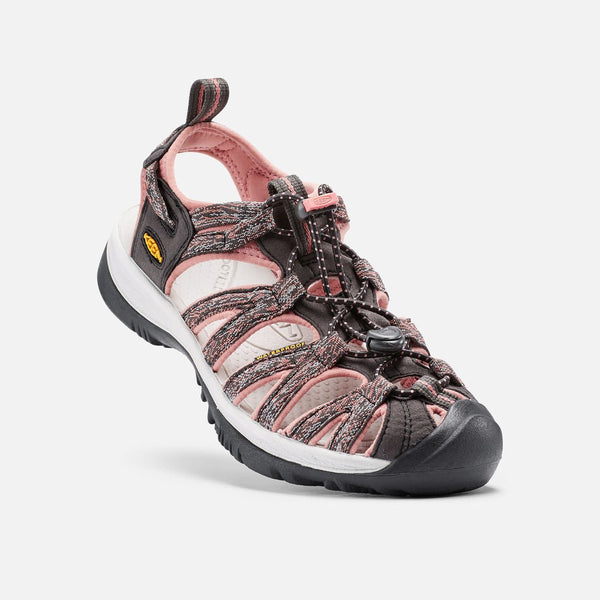 Ženski sandali Keen Whisper Sandals  (Raven/Rose Down)