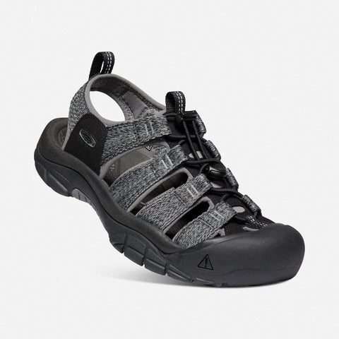 Moški sandali Keen Newport H2 Sandals (Black/Steel Grey)