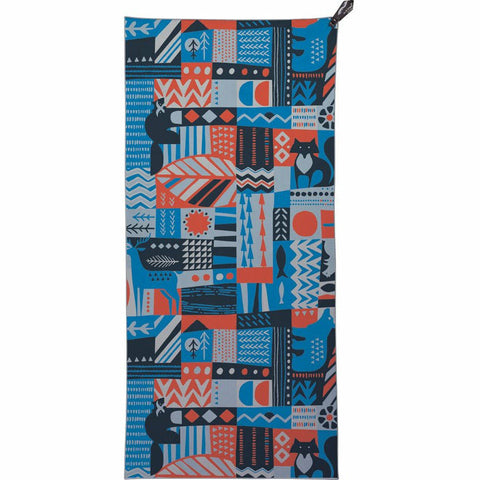 Potovalna brisača PackTowl Personal Beach Towel (Woodland Wilds)