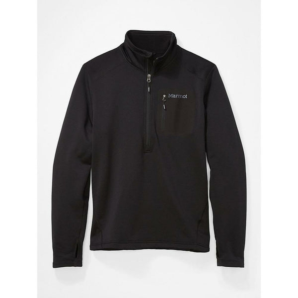 Moški flis Marmot Olden Polartec 1/2 Zip (Black)