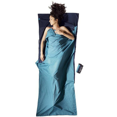 Spalna rjuha Cocoon Egyptian Cotton Travel Sheet (Tuareg(Lagoona Blue)