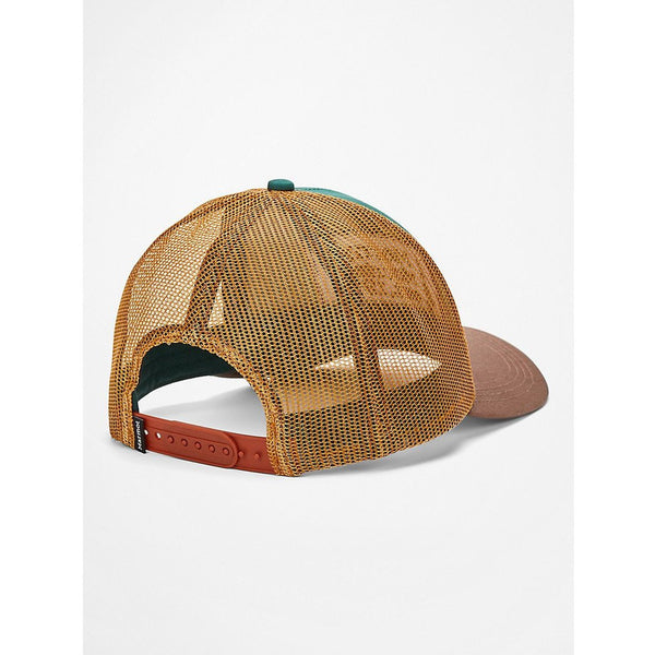 Kapa Marmot Retro Trucker Hat (Botanical Garden/Scotch)