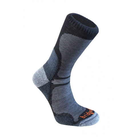 Moške nogavice Bridgedale Ultra Light Socks (Black)