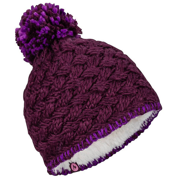 Otroška kapa Marmot Girl's Denise Hat (Dark Purple)