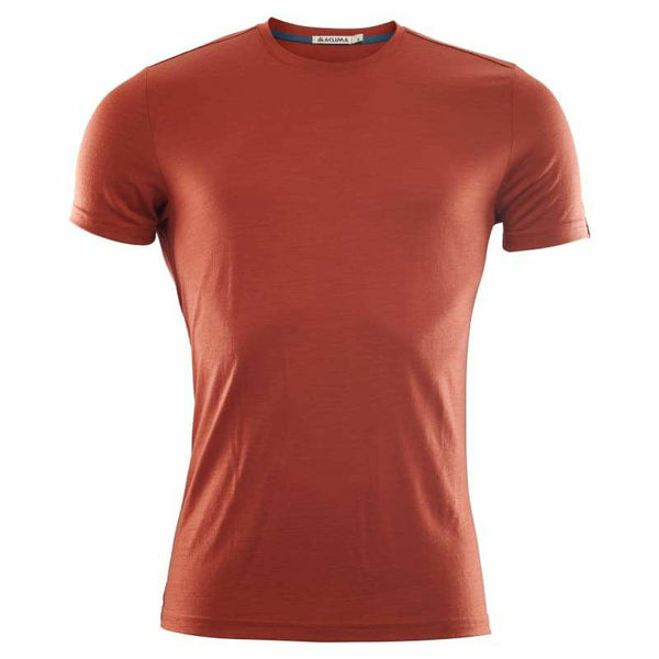 Moška volnena majica Aclima LightWool T-Shirt (Red Ochre)