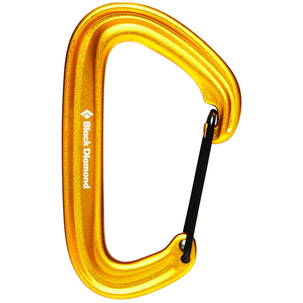 Vponka Black Diamond LiteWire Carabiner (Yellow)