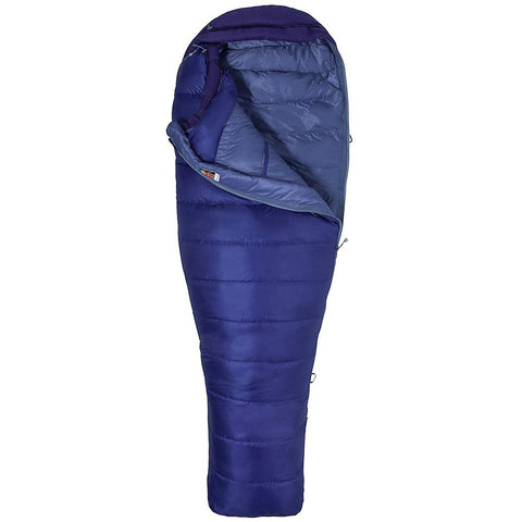 Ženska spalna vreča Marmot Wm's Quray Sleeping Bag (Electric Purple/Royal Grape)