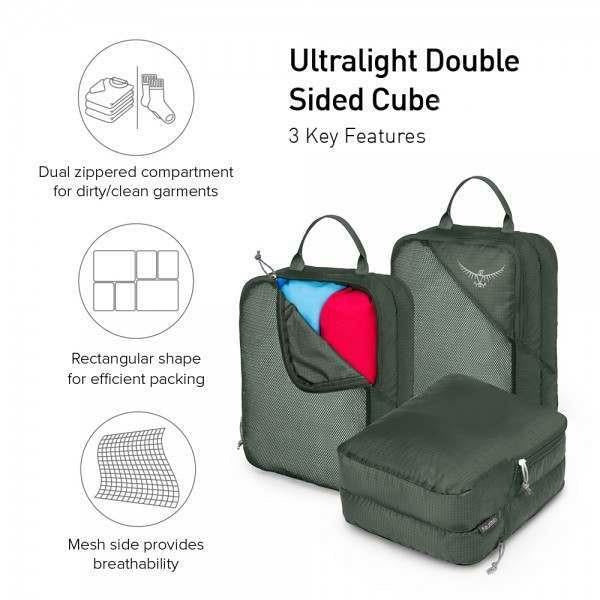 Torbica Osprey Ultralight Double Sided Cube Large
