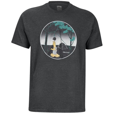 Moška majica Marmot Marmotini SS T-Shirt (Charcoal Heather)