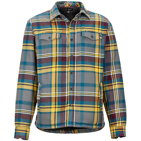 Moška srajca Marmot Ridgefield Heavyweight Flannel LS Shirt (Bright Steel)