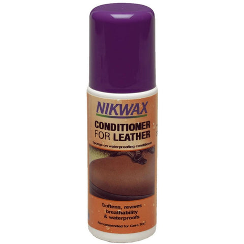 Impregnacija za usnjeno obutev Nikwax Conditioner for Leather™ 125 ml