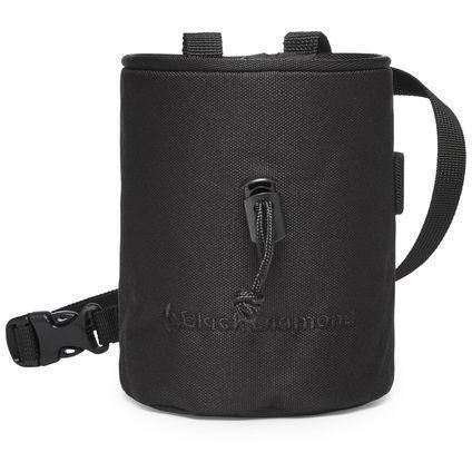 Magnezij vrečka Black Diamond Mojo Chalk Bag (Black)