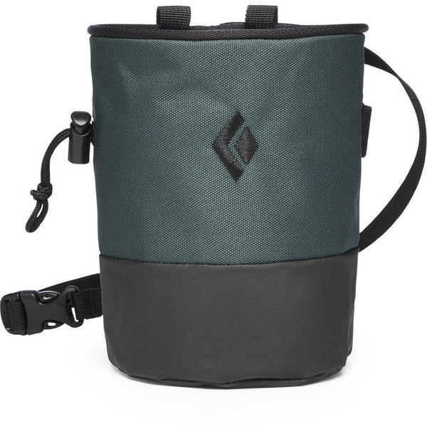Magnezij vrečka Black Diamond Mojo Zip Chalk Bag (Deep Forest /Slate)