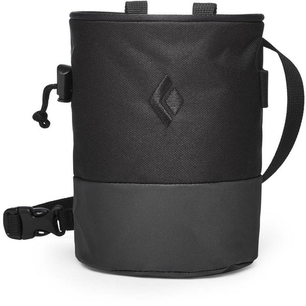 Magnezij vrečka Black Diamond Mojo Zip Chalk Bag (Black/Slate)