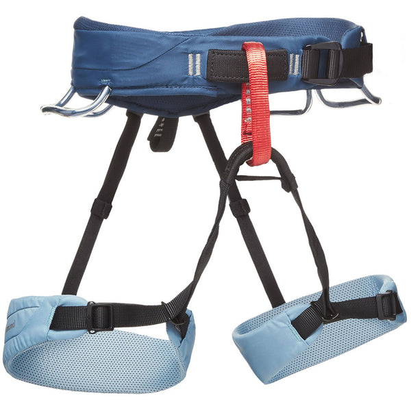 Ženski plezalni pas Black Diamond Momentum Harness (Stone Blue)