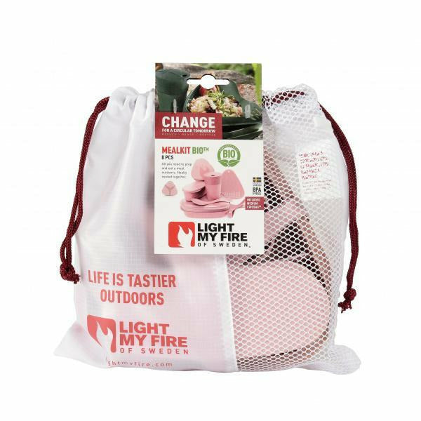 Komplet posode Light My Fire MealKit Bio 8 PCS