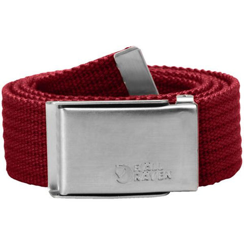 Pas Fjällräven Merano Canvas Belt (Deep Red)