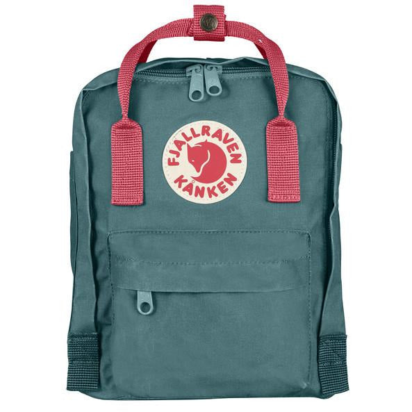 Nahrbtnik Fjällräven Kånken Mini Backpack (Fros Green-Peach pink)