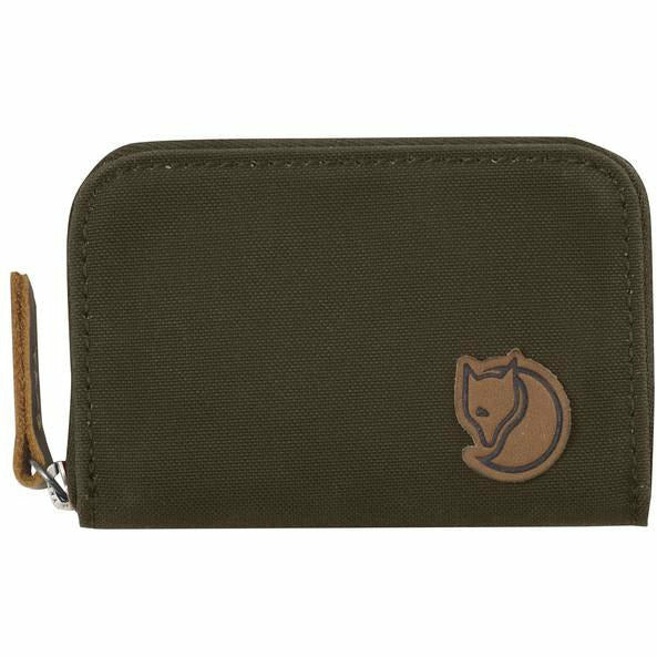 Denarnica Fjällräven Zip Card Holder (Dark Olive)