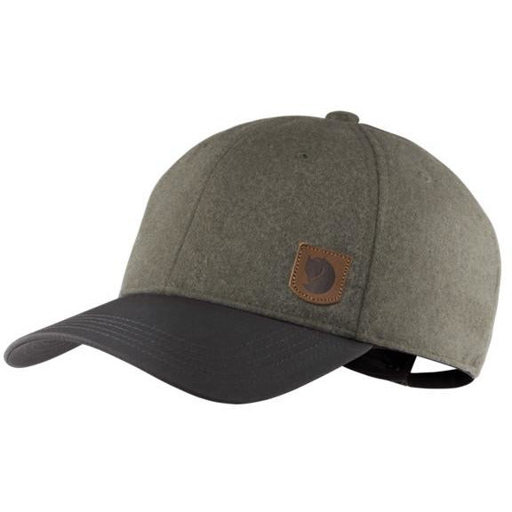 Kapa Fjällräven Greenland Wool Cap (Dark Grey)