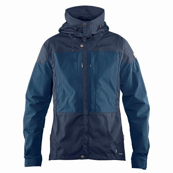 Moška jakna Fjällräven Keb Jacket (Dark Navy-Uncle Blue)