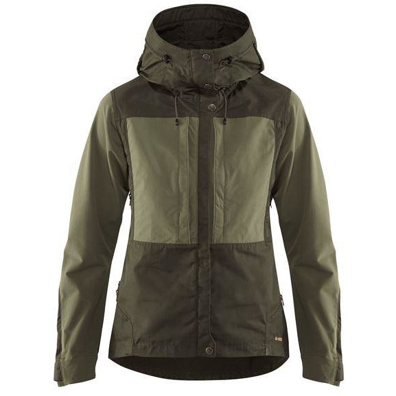 Ženska jakna Fjällräven Keb Jacket W  (Deep Forest-Laurel Green)