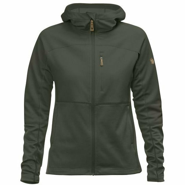 Ženski flis Fjällräven Abisko Trail Fleece W (Deep Forest)