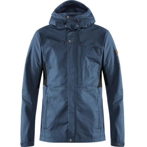 Moška jakna Fjällräven Kaipak Jacket (Uncle Blue-Dark Grey)