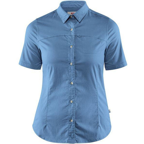 Ženska srajca Fjällräven High Coast Stretch Shirt SS W (River Blue)