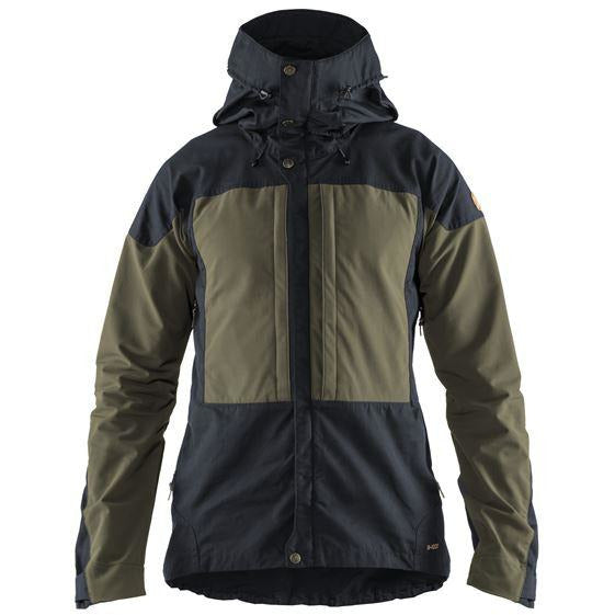 Moška jakna Fjällräven Keb Jacket (Dark Navy-Light Olive)