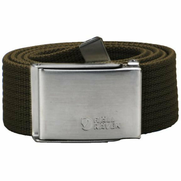 Pas Fjällräven Canvas Belt (Dark Olive)
