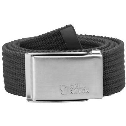 Pas Fjällräven Merano Canvas Belt (Dark Grey)