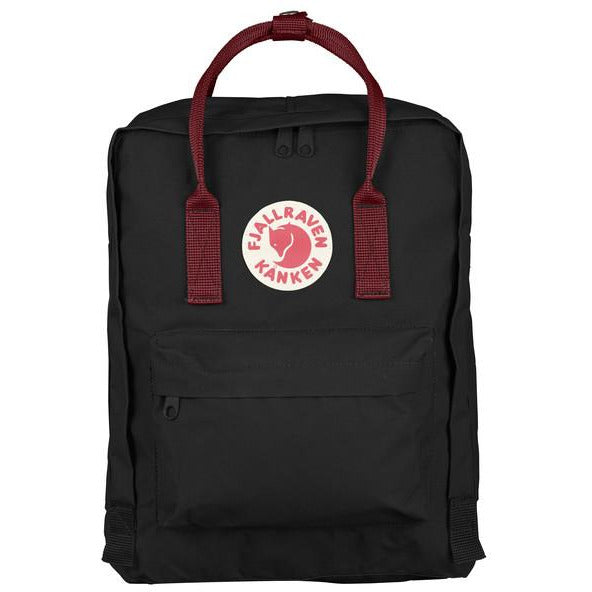 Nahrbtnik Fjällräven Kånken Backpack (Black-Ox Red)