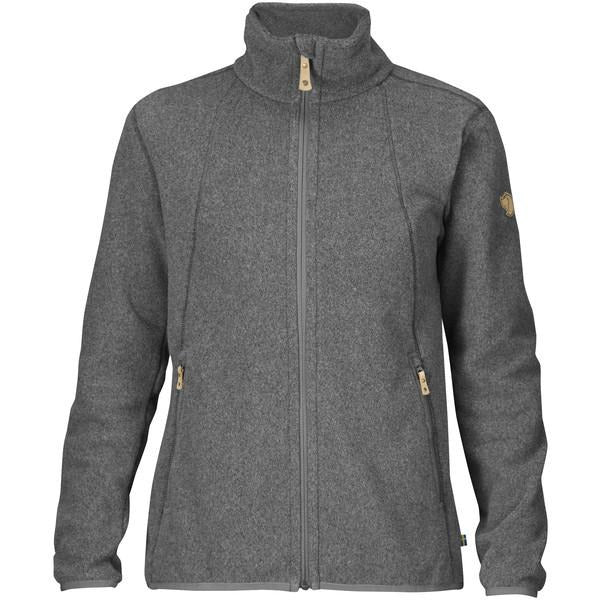 Ženski flis Fjällräven Stina Fleece W (Grey)