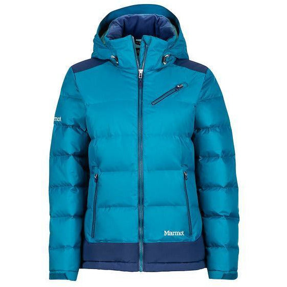 Ženska puhasta jakna Marmot Wm's Sling Shot Jacket (Late Night/Arctic Navy)