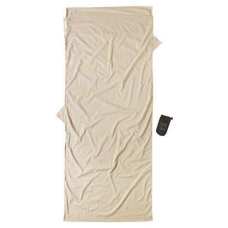 Spalna rjuha Cocoon Microfiber Travel Sheet Insect Shield Egyptian Cotton (Sand)