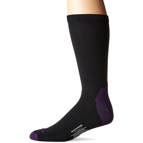 Nogavice ExOfficio BugsAway® Sol Cool Crew Sock (Blackberry)