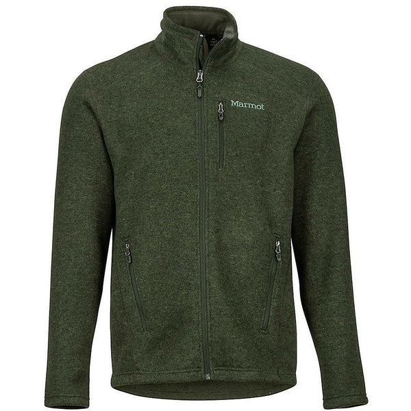 Moški flis Marmot Drop Line Jacket (Rosin Green)