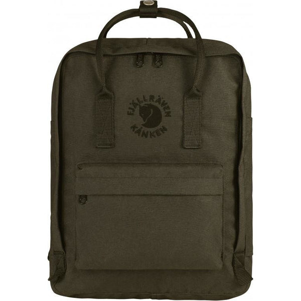 Nahrbtnik Fjällräven Re-Kånken Backpack (Dark Olive)
