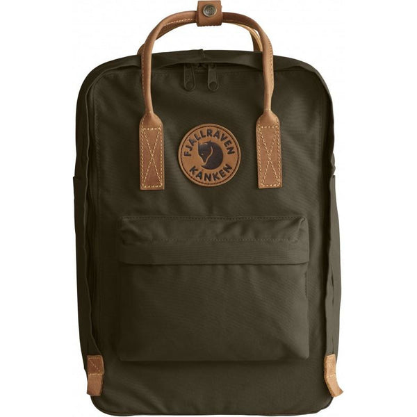 Nahrbtnik Fjällräven Kånken No. 2 Laptop Backpack (Dark Olive)