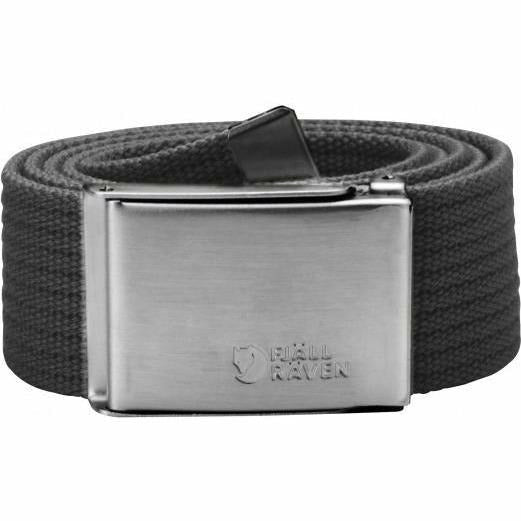 Pas Fjällräven Canvas Belt (Dark Grey)