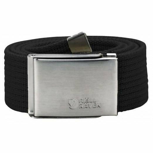 Pas Fjällräven Canvas Belt (Black)