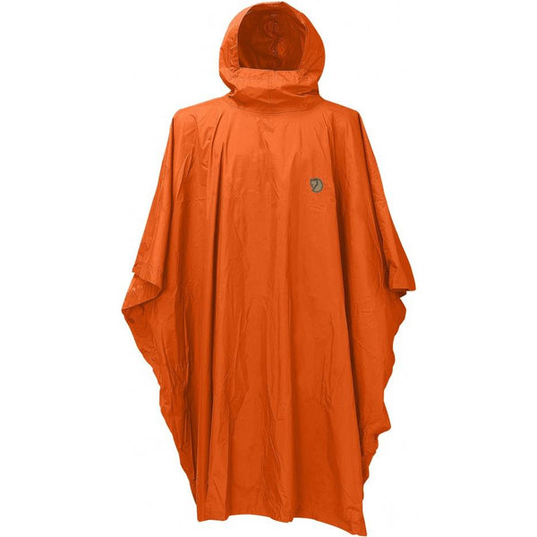 Pelerina Fjällräven Poncho (Safety Orange)