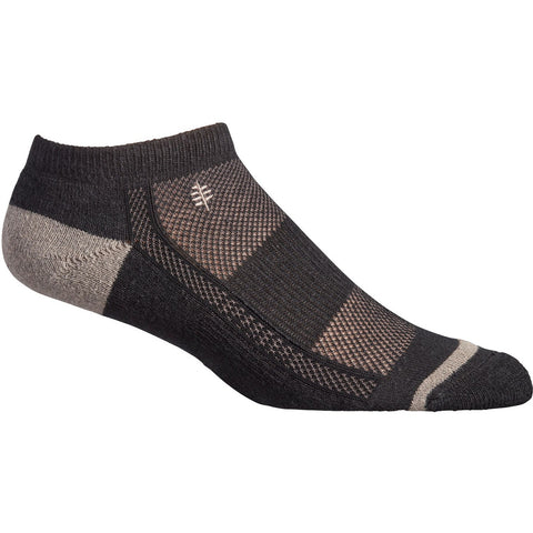 Nogavice Royal Robbins Hemp Travel Micro Socks (Jet Black)