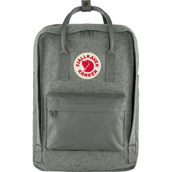 Nahrbtnik Fjällräven Kånken Re-Wool Laptop 15'' (Granite Grey)