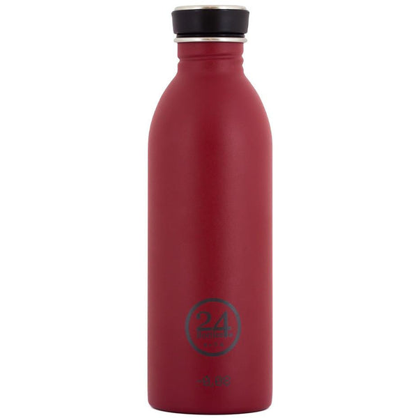 Čutara 24Bottles Urban Bottle 0.5 L Stone Finish (Country Red)